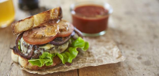 Recept på snabba hamburgare