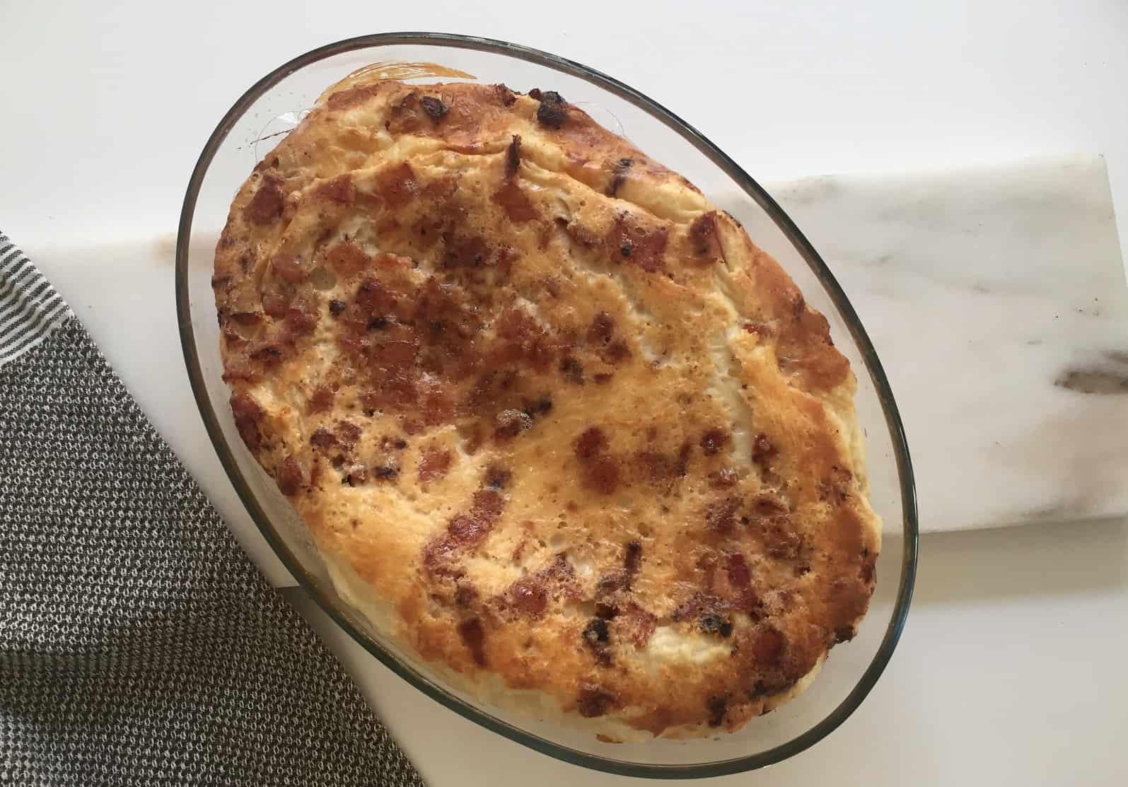 Recept på ugnspannkaka