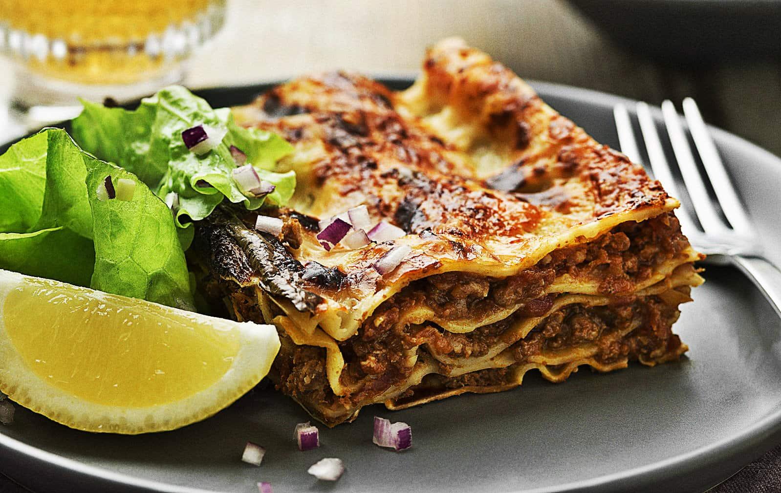 Matkomforts lasagne recept