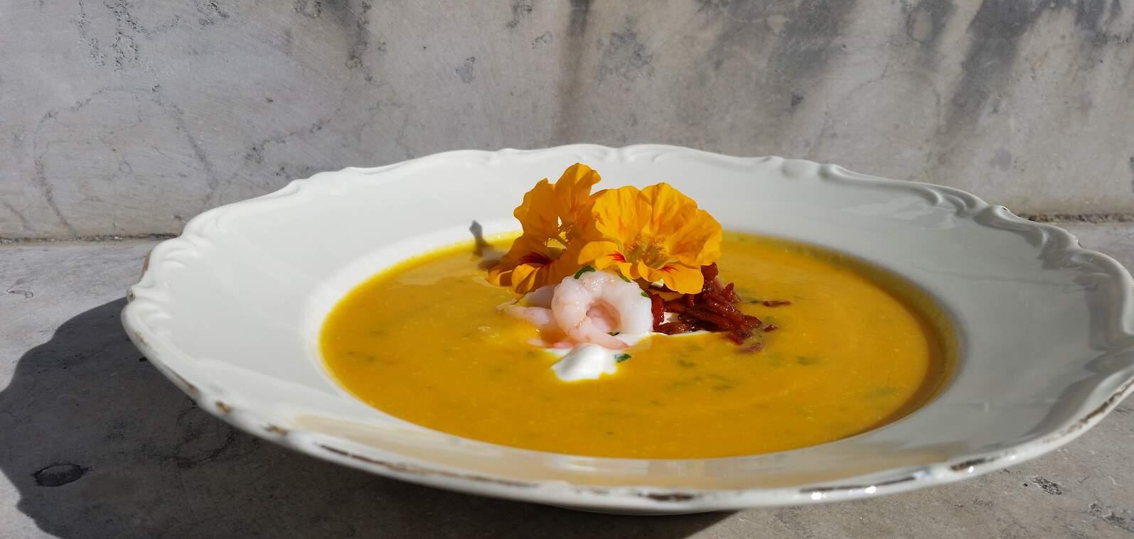 Recept på morotssoppa
