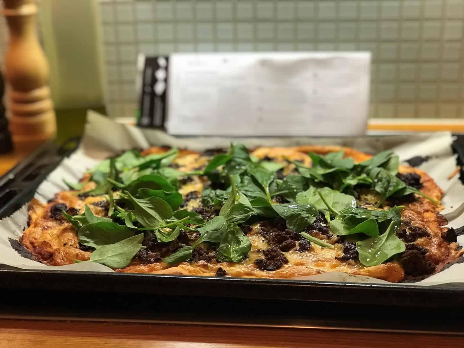 Pizza på ett nafs.