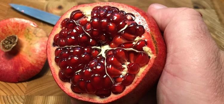 skala granatäpple steg 2