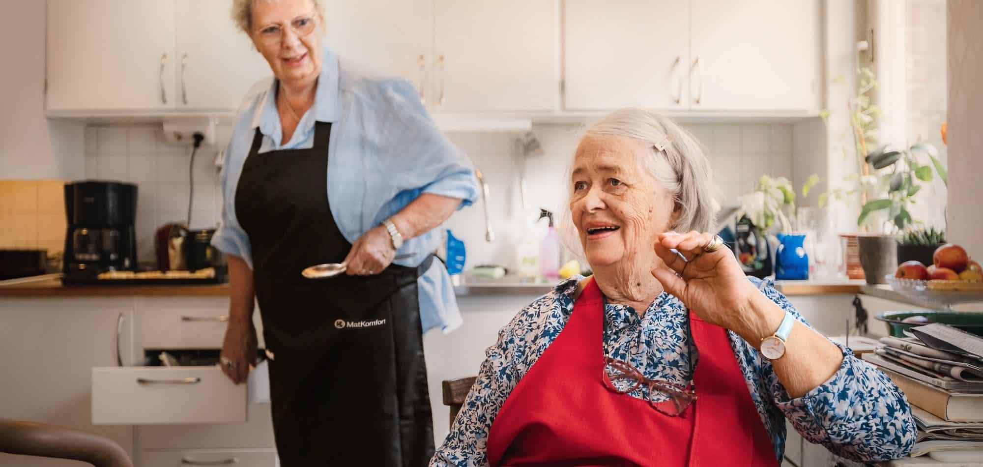 Matkomfort hjälper äldre äta näringsrik mat
